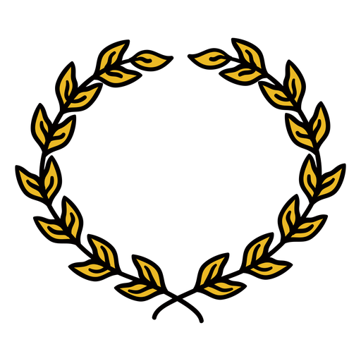 Wreath hand drawn Transparent PNG