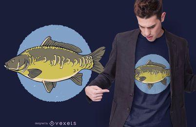 Mirror Carp T-shirt Design
