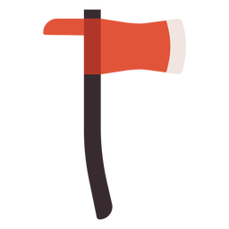 Axe hatchet colorful icon