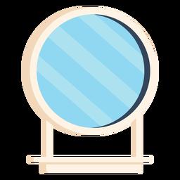 Espejo de baño colorido icono