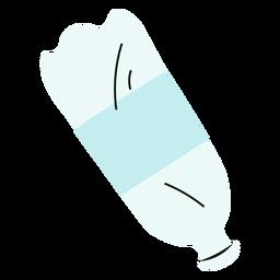 Ilustração colorida de animal de estimação de garrafa