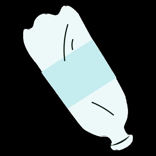 Bottle pet colorful illustration