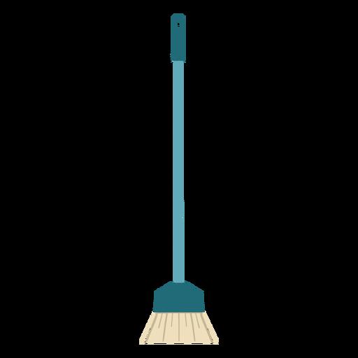 Cleaning broom brush flat