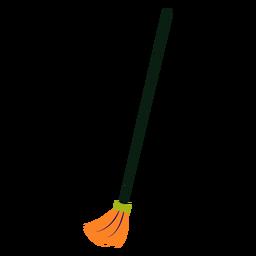Escoba de limpieza plana colorida