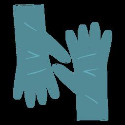 Handschuhe flach reinigen