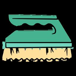 Icono de cepillo de mano de limpieza