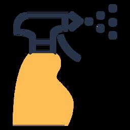 Icono de spray de limpieza spray