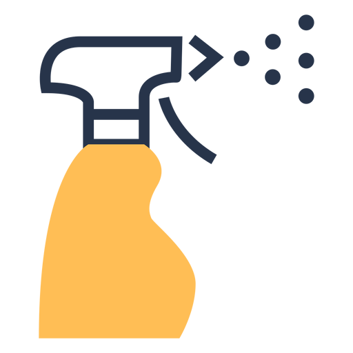 Cleaning spray icon spray