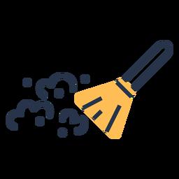 Icono de cepillo de limpieza de polvo