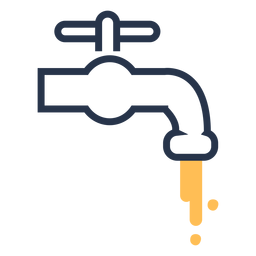 Icono de agua del grifo