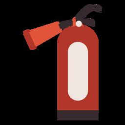 Icono colorido extintor