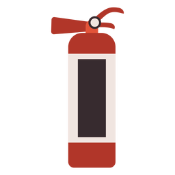 Fire extinguisher colorful icon extinguisher