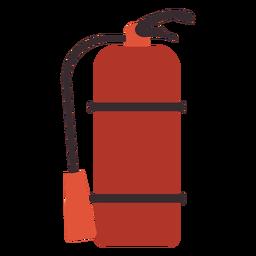 Extintor de incendios icono colorido extintor extinción de incendios