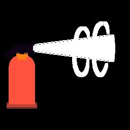 Extintor plano