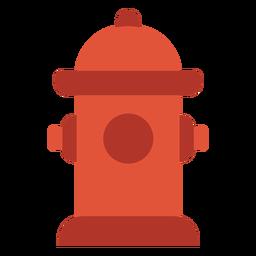 Icono colorido hidrante