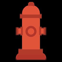 Icono de hidrante colorido