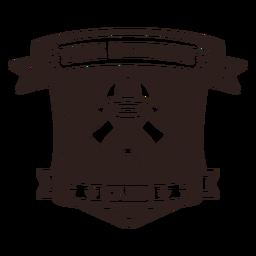 Fire station club badge