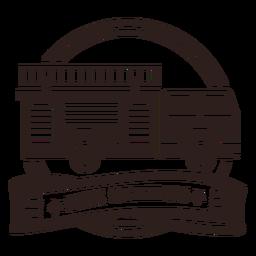 Insignia de camión de bomberos