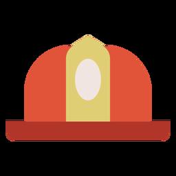 Ícone colorido de capacete de bombeiro