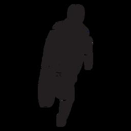 Fireman hose flat silhouette