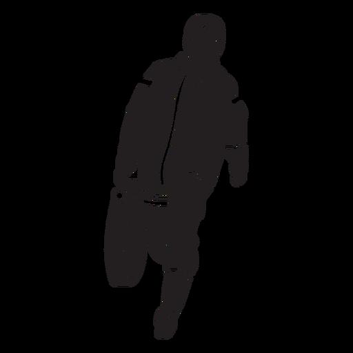 Fireman hose flat silhouette Transparent PNG