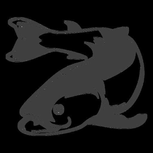 Ilustraci?n de mariscos de pescado