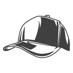 Fisherman's cap hat illustration