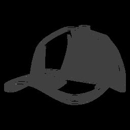 Ilustração de chapéu de boné de pescador