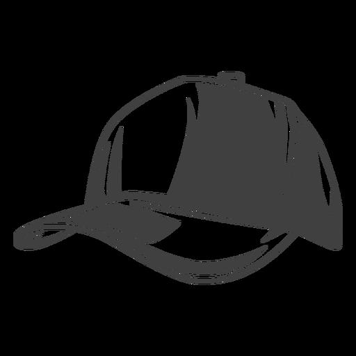 Fisherman's cap hat illustration