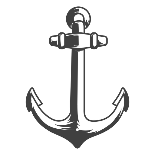 Fishing boat anchor illustration Transparent PNG