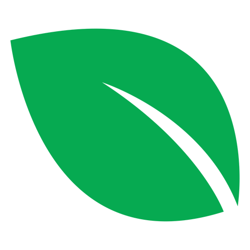 Gran icono de hoja verde
