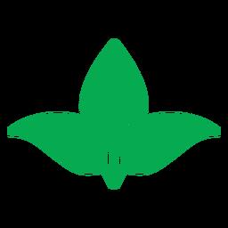 Icono de naturaleza de hojas verdes