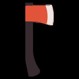 Hachet icono colorido hacha