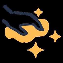 Ícone de pano de limpeza de mão
