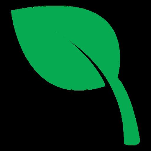 Icono de hoja verde de salud Transparent PNG
