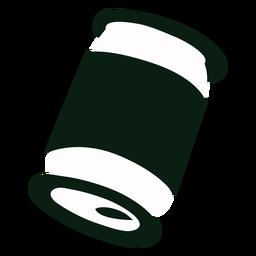 Jugo puede reciclar silueta
