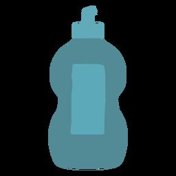 Liquid soap detergent flat