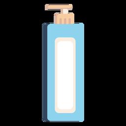 Icono de dispensador de jabón líquido colorido