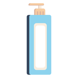 Liquid soap dispenser icon colorful