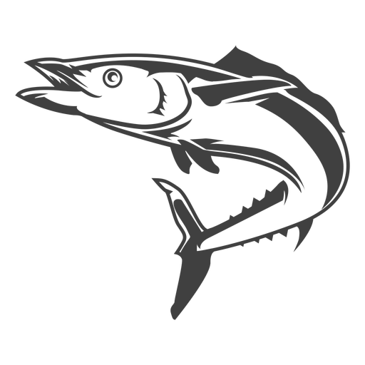 Long ocean fish illustration Transparent PNG