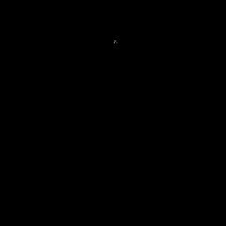 Cepillo largo de barrido negro