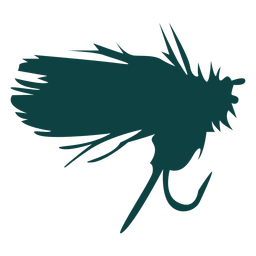 Lure bait hook silhouette