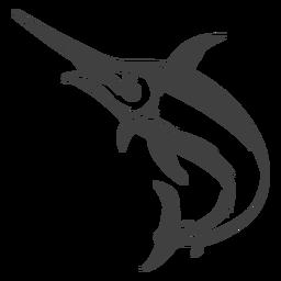 Ilustración de pez marline