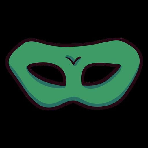 Icono de máscara trazo colorido