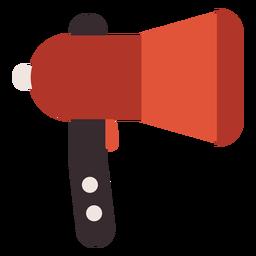 Megaphone bullhorn colorful icon