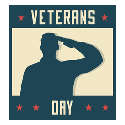 Dia dos veteranos militares plana