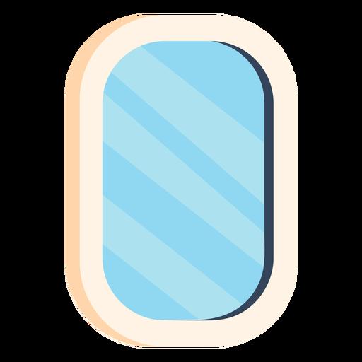 Mirror bathroom colorful icon