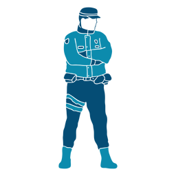 Police officer law cop illustration