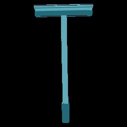 Trapeador de esponja colorido plano