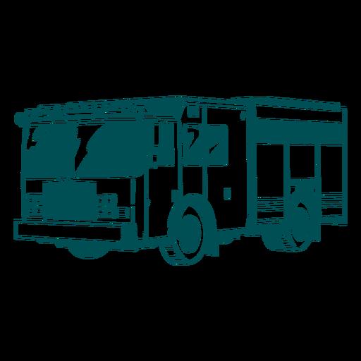 Truck fire engine illustration
